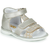 Shoes Girl Sandals GBB NAVIZA Beige