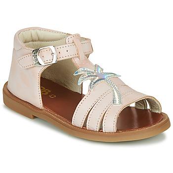 Shoes Girl Sandals GBB ARAGA Pink