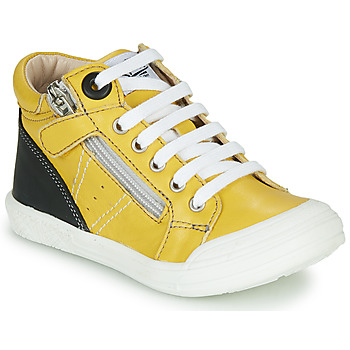 Shoes Boy Hi top trainers GBB ANATOLE Yellow