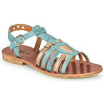 Shoes Girl Sandals GBB FANNI Blue