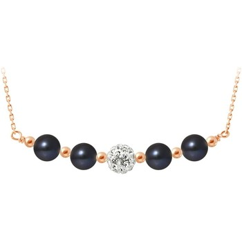 Watches Women Necklaces Blue Pearls BPS K051 W Multicolored