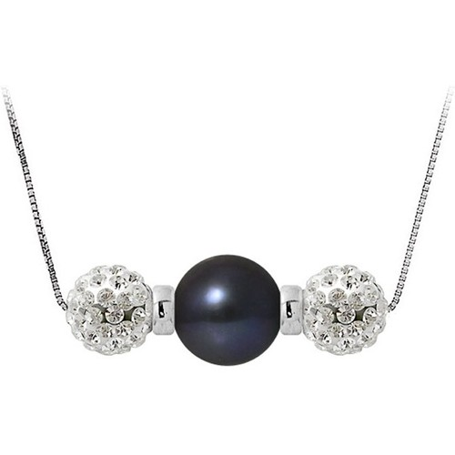 Watches Women Necklaces Blue Pearls BPS K057 W Multicolored