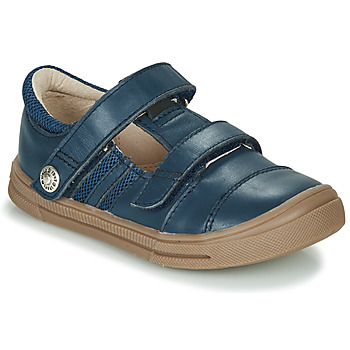 Shoes Boy Low top trainers GBB MANUK Blue