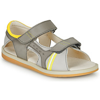 Shoes Boy Sandals GBB MINOS Grey