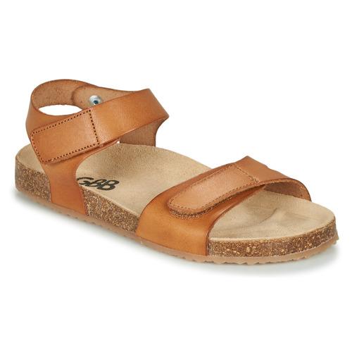 Shoes Boy Sandals GBB KIPILO Cognac
