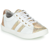 Shoes Girl Low top trainers GBB MAPLUE White / Gold
