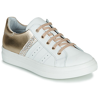 Shoes Girl Low top trainers GBB DANINA VTC BLANC-OR DPF/BITTER