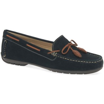 Shoes Women Loafers Charles Clinkard Boat II Womens Moccasins blue