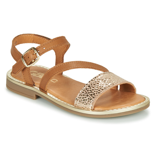 Shoes Girl Sandals GBB FANA Brown