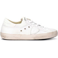 Shoes Men Low top trainers Philippe Model Philippe Paris sneaker in white leather White