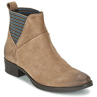 Shoes Women Mid boots Geox MENDI ST D BEIGE