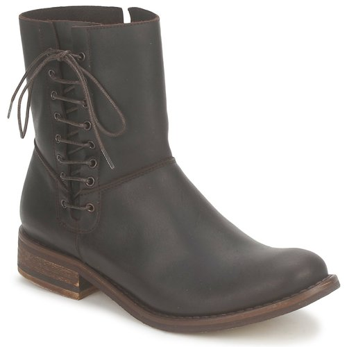 Shoes Women Mid boots Stephane Gontard RINGO Brown