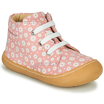 Shoes Girl Hi top trainers GBB ATARINA Pink