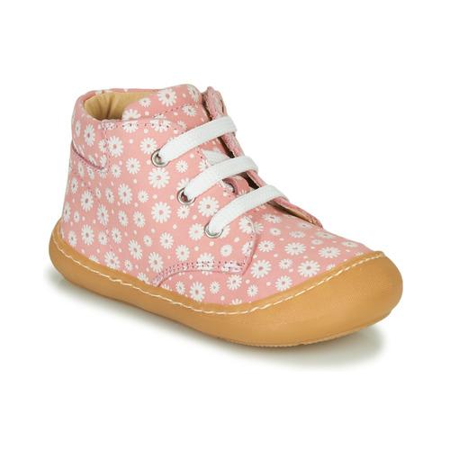 Shoes Girl Hi top trainers GBB ATARINA Pink