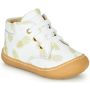Shoes Girl Hi top trainers GBB ATARINA White