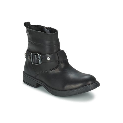 Shoes Girl High boots Geox SOFIA B Black