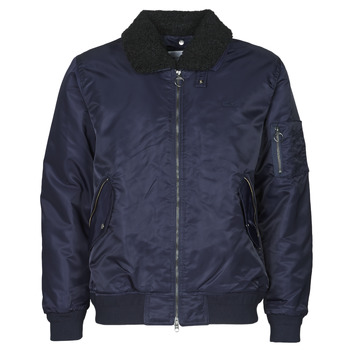 Clothing Men Jackets Lacoste BH8405 Marine