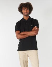 Clothing Men Short-sleeved polo shirts Lacoste POLO L12 12 REGULAR Black