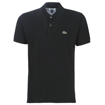 Clothing Men Short-sleeved polo shirts Lacoste POLO L12 12 REGULAR Black