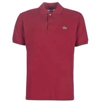 Clothing Men Short-sleeved polo shirts Lacoste POLO L12 12 REGULAR Bordeaux