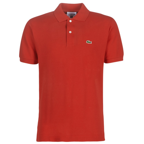 Clothing Men short-sleeved polo shirts Lacoste POLO L12 12 REGULAR Red