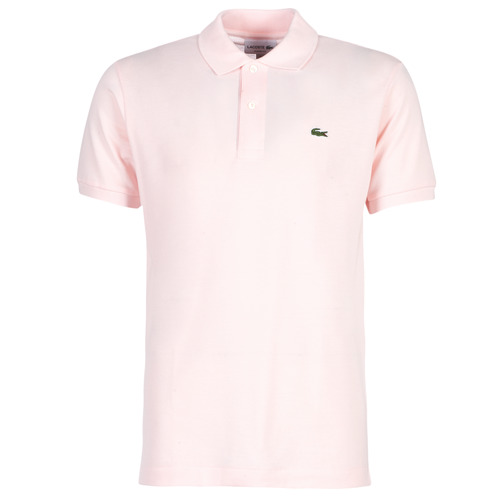 Clothing Men short-sleeved polo shirts Lacoste POLO L12 12 REGULAR Pink
