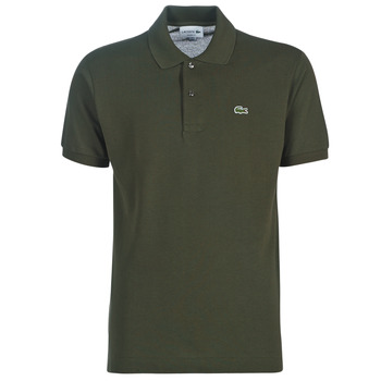 Clothing Men short-sleeved polo shirts Lacoste POLO L12 12 REGULAR Kaki