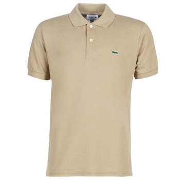 Clothing Men short-sleeved polo shirts Lacoste POLO L12 12 REGULAR Beige