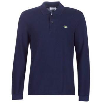 Clothing Men Long-sleeved polo shirts Lacoste L1312 Marine