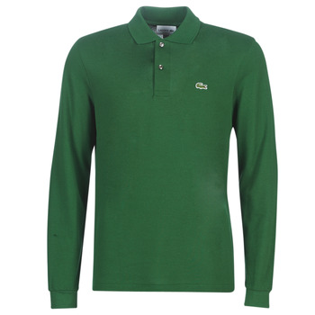 Clothing Men long-sleeved polo shirts Lacoste L1312 Green