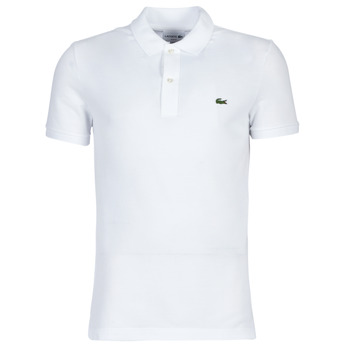 Clothing Men short-sleeved polo shirts Lacoste PH4012 SLIM White