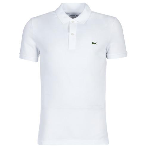 Clothing Men Short-sleeved polo shirts Lacoste PH4012 SLIM White