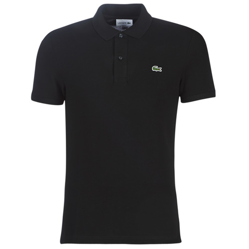Clothing Men Short-sleeved polo shirts Lacoste PH4012 SLIM Black
