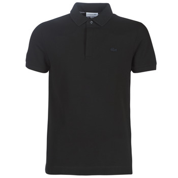 Clothing Men Short-sleeved polo shirts Lacoste PARIS POLO REGULAR Black
