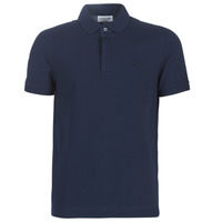 Clothing Men short-sleeved polo shirts Lacoste PARIS POLO REGULAR Marine
