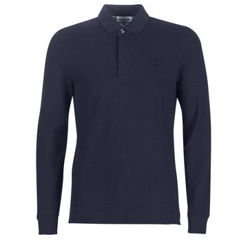 Clothing Men long-sleeved polo shirts Lacoste PH2481 REGULAR Marine