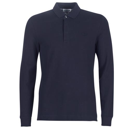 Clothing Men Long-sleeved polo shirts Lacoste PH2481 REGULAR Marine