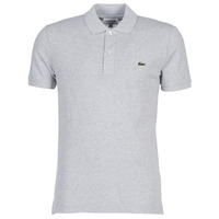 Clothing Men short-sleeved polo shirts Lacoste PH4012 SLIM Grey