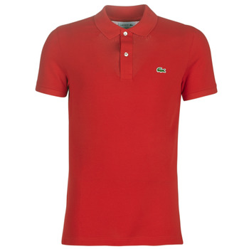 Clothing Men Short-sleeved polo shirts Lacoste PH4012 SLIM Red