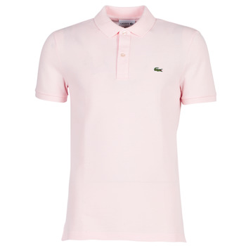 Clothing Men Short-sleeved polo shirts Lacoste PH4012 SLIM Pink