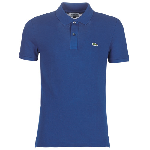 Clothing Men short-sleeved polo shirts Lacoste PH4012 SLIM Marine