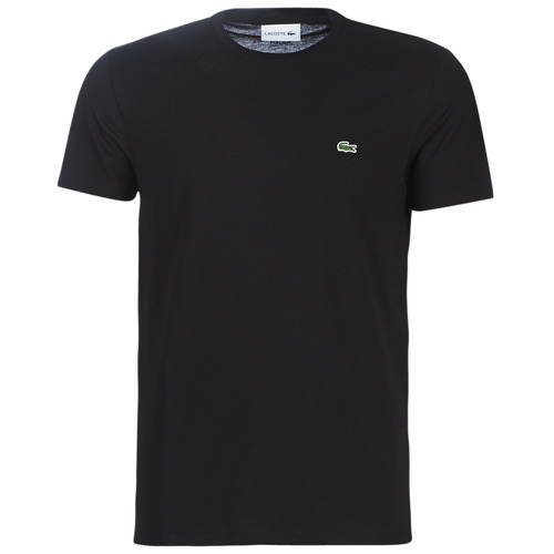 Clothing Men Short-sleeved t-shirts Lacoste TH6709 Black