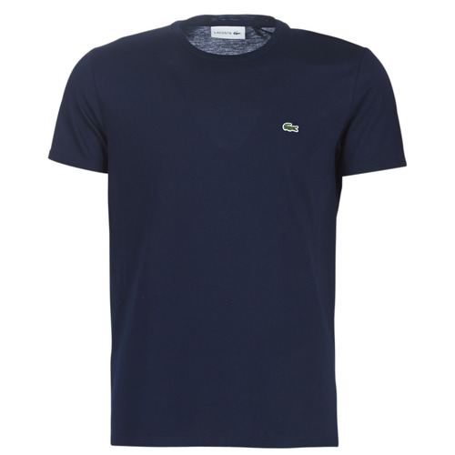 Clothing Men Short-sleeved t-shirts Lacoste TH6709 Marine