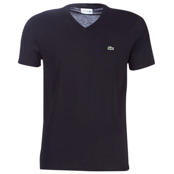 Clothing Men Short-sleeved t-shirts Lacoste TH6710 Black