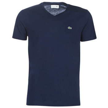 Clothing Men Short-sleeved t-shirts Lacoste TH6710 Marine