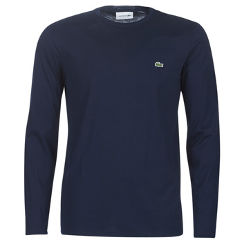 Clothing Men Long sleeved tee-shirts Lacoste TH6712 Marine