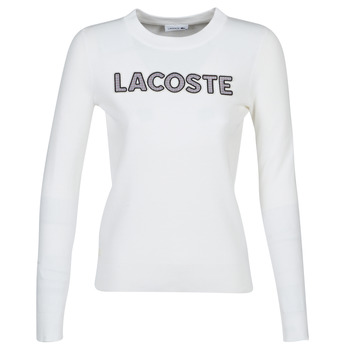 Clothing Women sweaters Lacoste AF8763 White