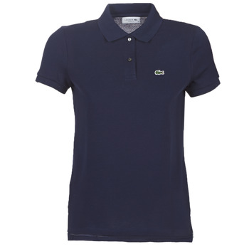 Clothing Women short-sleeved polo shirts Lacoste PF7839 Marine