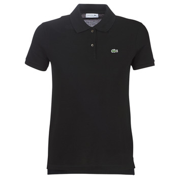 Clothing Women short-sleeved polo shirts Lacoste PF7839 Black