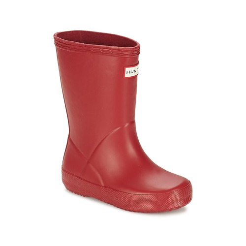 Shoes Children Wellington boots Hunter KIDS FIRST CLASSIC Red
